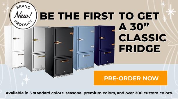 Pre-Order New Classic Fridge Tablet Banner