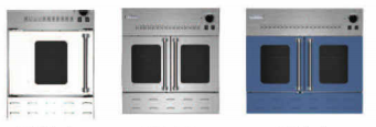 gas wall oven image