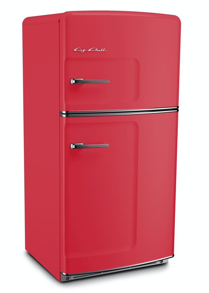 Retro Original Refrigerator in Rose